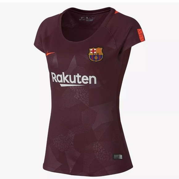 Women s Nike FC Barcelona Soccer Jersey Authentic 15365acb5f